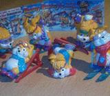 """Ü-Eier """" Hanny Bunny's """" lustige Ski Hasen Erscheinungsjahr 1996 - Verden (Aller)"""
