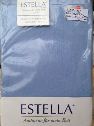 Estella Mako Fein Jersey Spannbettlaken