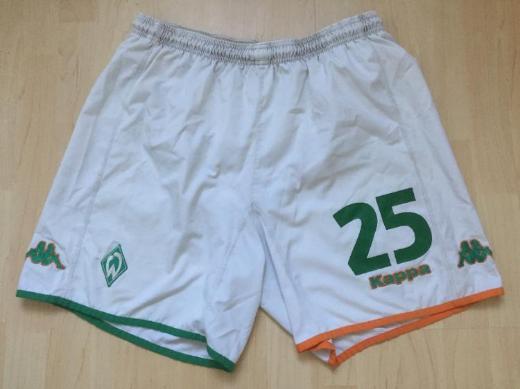 Original Werder Trikot-Hose weiß - Bremen