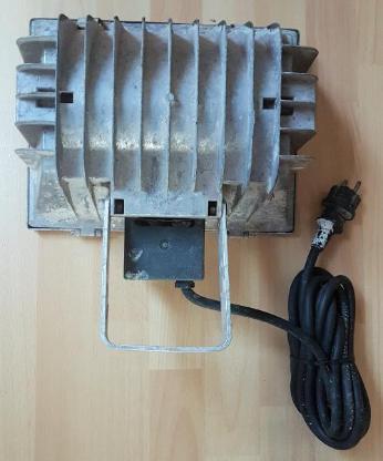1000 Watt Scheinwerfer - Flutlichtstrahler - Halogen - Bau Lampe - Verden (Aller)