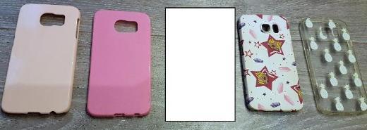 4 x Stück Samsung Galaxy S6 Schutzhüllen Bumper - Verden (Aller)