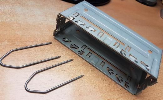 DIN Metall Universal Autoradio Einbaurahmen Einbau Rahmen - Verden (Aller)