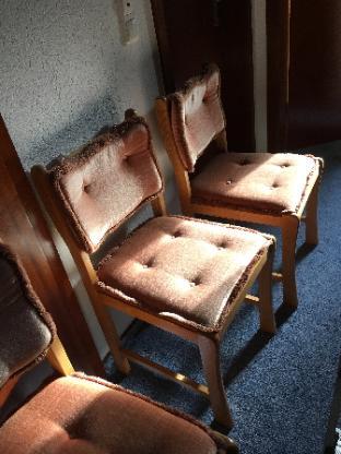 eiche Esszimmer Stühle zum verschenken - Bremen Oberneuland