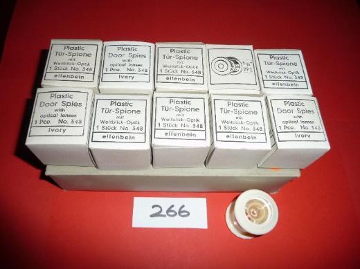 Plastic Tür-Spione mit Weitblick-Optik,No.348,33-50 - Ritterhude