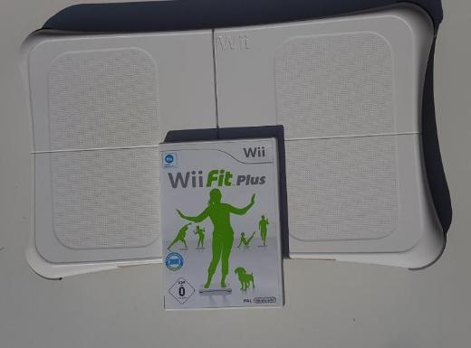 Wii Balance Board Wii Fit Plus Spiel - Achim