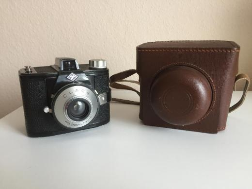 Agfa Clack 6x9 Fotoapparat inkl. Original Ledertasche – Rarität 50er Jahre - Bremen