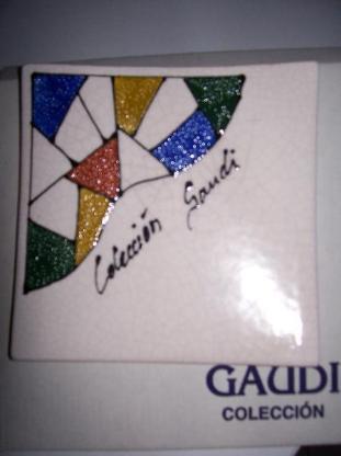 Gaudi Keramik Untersetzer - Bremen