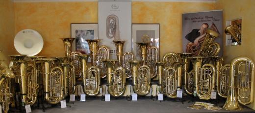 Gebrauchte Voss B - Tuba, Zylinderventile - Bremen Mitte