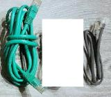 2 x Stück Ethernet Lan Netzwerkkabel RJ45 10 / 100 / 1000 Mbit/s - Verden (Aller)