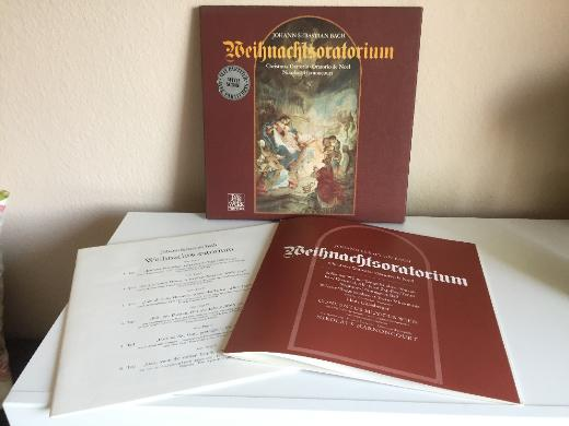 Bach - Weihnachtsoratorium - Christmas Oratorio - 3 LP Box - Bremen