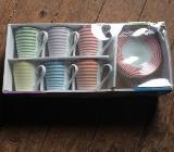 Kaffeetassen-Set, 12-teilig - Emstek