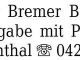 125 Jahre Der Bremer Bürg -