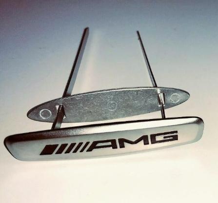 """Mercedes-Benz AMG Sitz Embleme Logo Schriftzug A0008171716 """" NEUWARE """" - Verden (Aller)"""