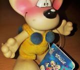Diddl - Maus Figur Groß beweglich 11,5 cm hoch aus Hart Plastik NP. 79,95 DM - Verden (Aller)