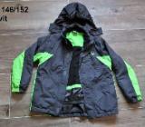 Winter Skijacke Jacke von Crivit Gr. 146/152 grau grün - Bremen