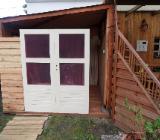 Doppelflügeltür komplett für 28mm Gartenhaus neu original verpackt - Langwedel (Weser)