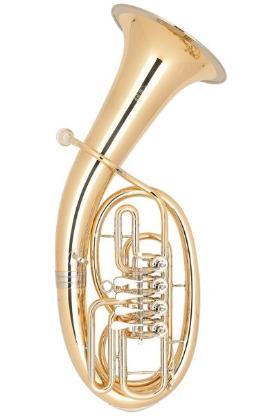 Miraphone Loimayr Deluxe Tenorhorn, 4 Ventile, Mod. 47 WL4 aus Goldmessing mit Neusilberkranz und Trigger - Bremen Mitte
