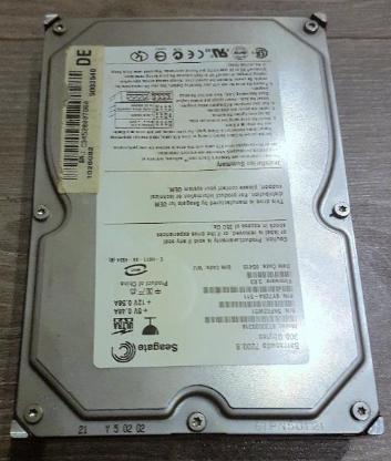 Seagate Barracuda 300GB Intern 7200RPM 3,5Zoll ST3300831A - Verden (Aller)
