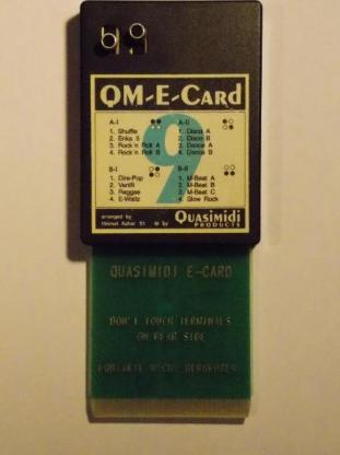 Speicherkarte für Keyboard Roland E-20