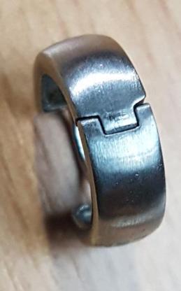 Sterling Silber-Band-Ohrring 15 mm x 5 mm; Stift:1 mm - Verden (Aller)