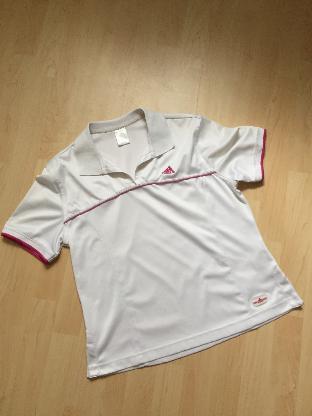 Damen Sportbekleidung Poloshirt + Weste (Set) Adidas