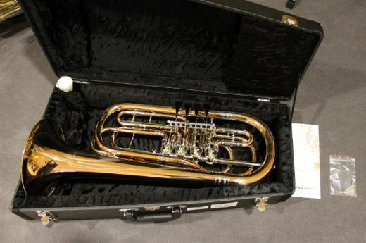 Cerveny Basstrompete in Bb, 4 Ventile, Goldmessing, Neuware - Bremen Mitte