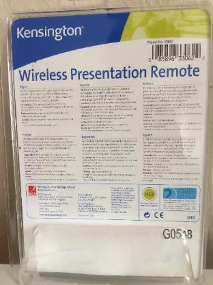 Kensington Wireless Präsentation Fernbedienung mit Laserpointer - Bremen