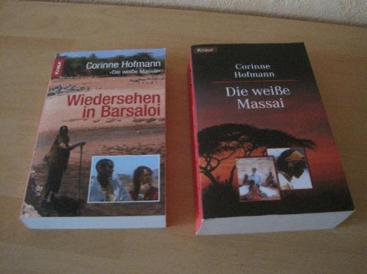 Corinne Hofmann, Taschenbücher