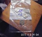 3 Stück 2 Euro Münzen aus drei Ländern Zirkuliert 12 - Bremen