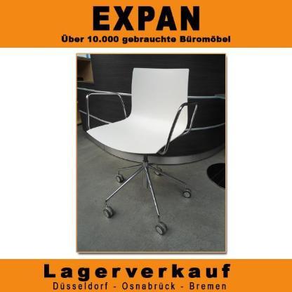 Bürodrehstuhl Arper Catifa 46 weiß, Büromöbel - Bremen