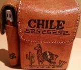 CHILE  Zigarettenschachteln Etui inkl.Feuerzeughalter - Verden (Aller)