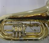J. Voigt Bb - Flicorno / Basstrompete - Bassflügelhorn mit Hauptstimmzugtrigger. Neuware - Bremen Mitte