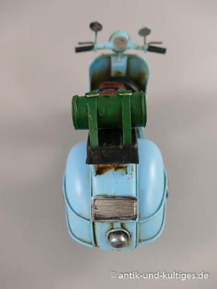 Scooter - Motorroller - Blechspielzeug - Antik - ca. 28 cm - Scheeßel