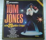 Tom Jones - Vinyl LP – Seine 20 größten Erfolge! - Wilhelmshaven