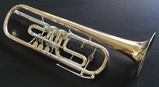 B & S Goldmessing / Neusilber Konzert - Trompete inkl. Koffer - Bremen Mitte