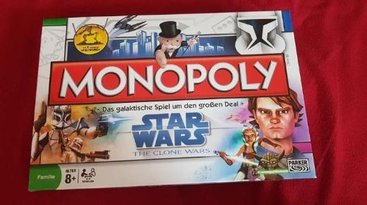 Star Wars Monopoly Spiel - Achim