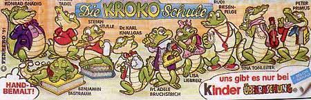 """Ü-Eier """" Kroko Schule """" Erscheinungsjahr 1991 - Verden (Aller)"""