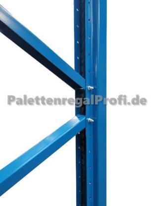 Palettenregal Höhe: 4,50 m Hochregal NEU für 240 Palettenplätze - Wilhelmshaven