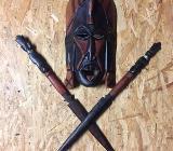 Maske  aus Afrika - Syke