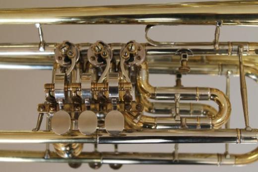 Deutsche Drehventil - Konzert - Trompete in B inkl. Koffer - Bremen Mitte