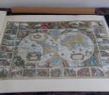 Alte Landkarte Magna Mundi - Bremervörde