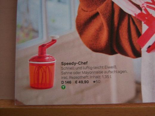 NEUER Tupper Speedy-Chef - Bremen