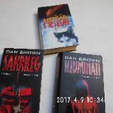 3 Romane von Dan Brown