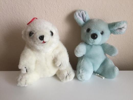 Eisbär und Teddy Stoff- / Kuscheltiere - Bremen