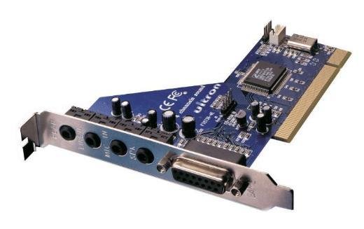 """Soundkarte Ultron Quadro Sound PCI 4 Kanal Retail """" NEU """" - Verden (Aller)"""