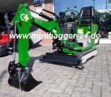 Minibagger Sauterelle 800 KG 6,5 PS vollhydr. Raupenfahrwerk NEU - Hude (Oldenburg)