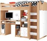 Hochbett inklusive Kleiderschrank + Schreibtisch - Ritterhude