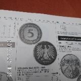 D-Mark 5 DM Münzen