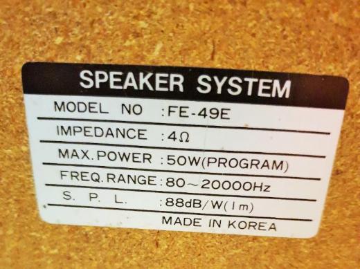 GoldStar FE-49 E Lautsprecher 50 Watt 4 Ohm - Verden (Aller)
