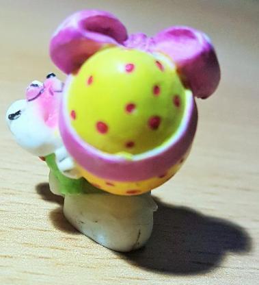 """Diddl Sammelfigur Nr.102 """" Maus mit großem Osterei """" 3 cm hoch - Verden (Aller)"""